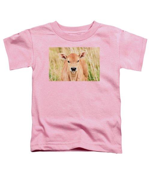Calf In The High Grass Toddler T-Shirt