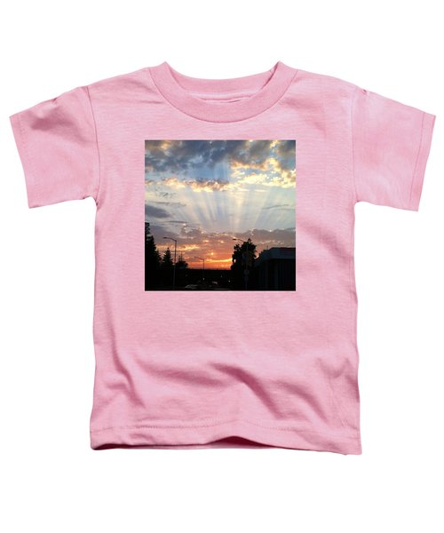 #california #sunset #nature Toddler T-Shirt