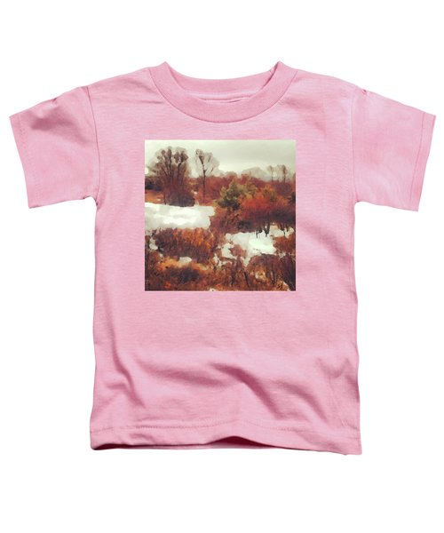 Came An Early Snow Toddler T-Shirt