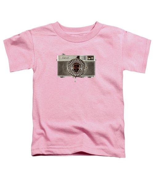 Canonete Film Camera Toddler T-Shirt