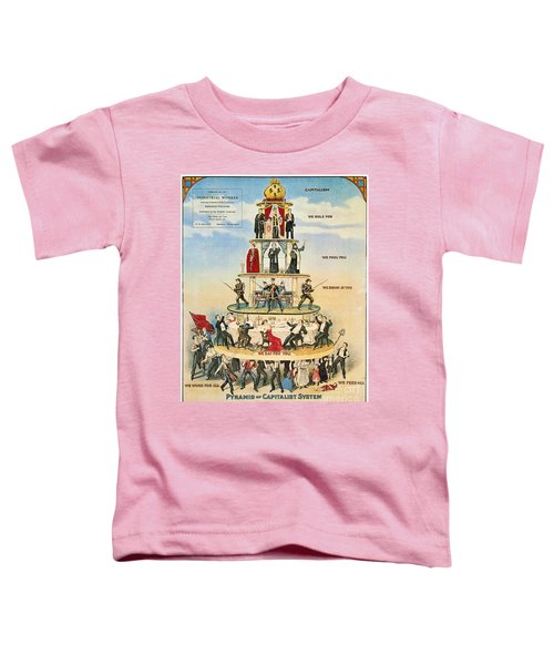 Capitalist Pyramid, 1911 - To License For Professional Use Visit Granger.com Toddler T-Shirt