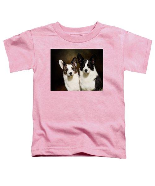 Cardigan Corgis Toddler T-Shirt