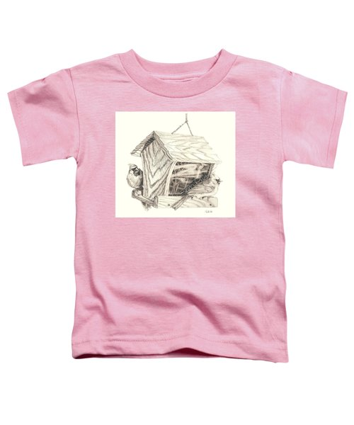 Cardinal Feeder Toddler T-Shirt