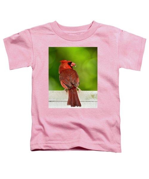 Cardinal Red Toddler T-Shirt