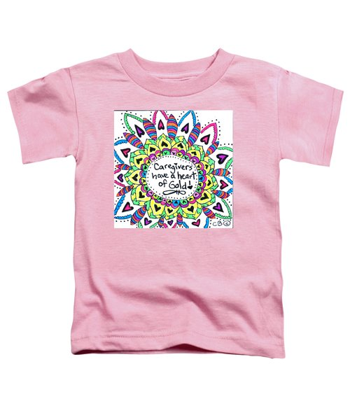 Caregiver Flower Toddler T-Shirt