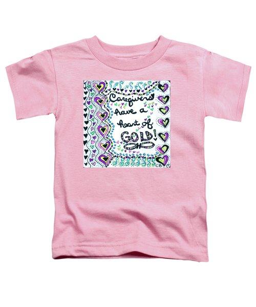 Caregiver Joy Toddler T-Shirt