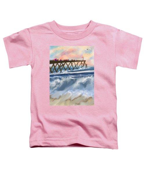 Carolina Beach Toddler T-Shirt