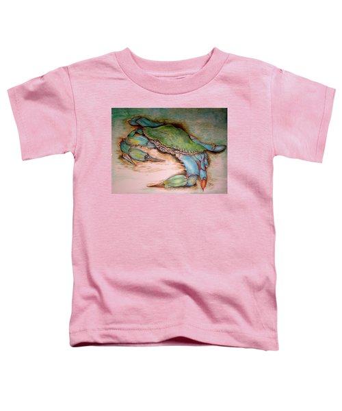Carolina Blue Crab Toddler T-Shirt