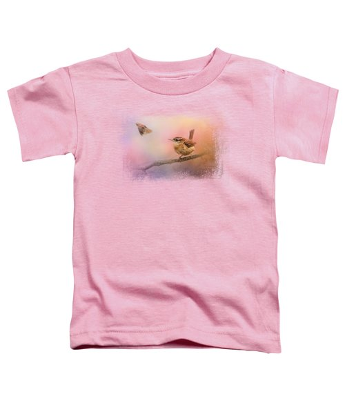 Carolina Wrens Toddler T-Shirt
