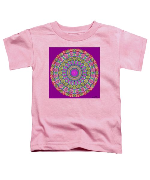 Toddler T-Shirt featuring the digital art Carousel by Joy McKenzie