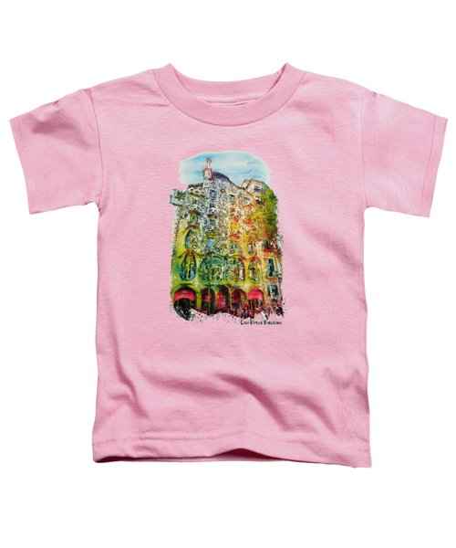 Casa Batllo Barcelona Toddler T-Shirt