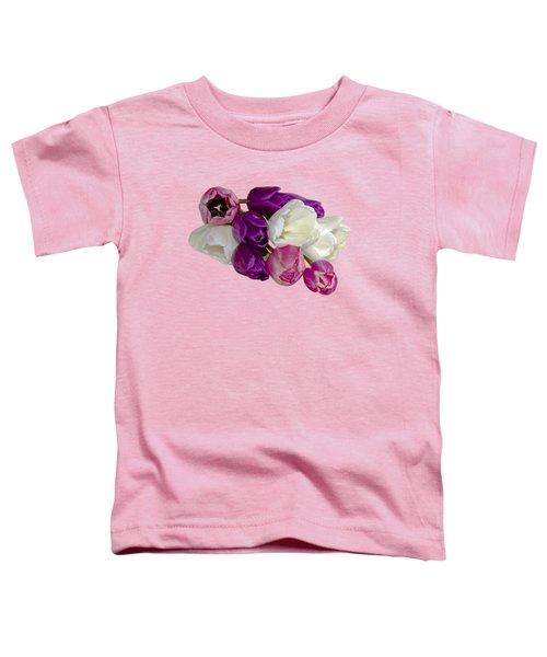 Cascading Tulips Toddler T-Shirt