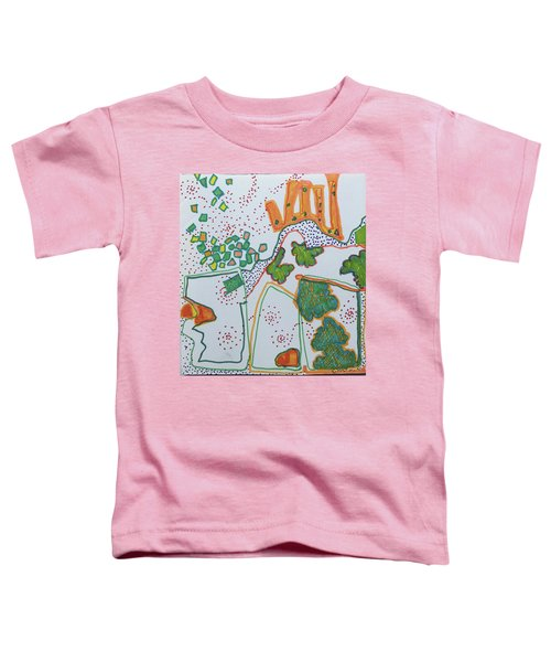 Castle On The Hill Toddler T-Shirt