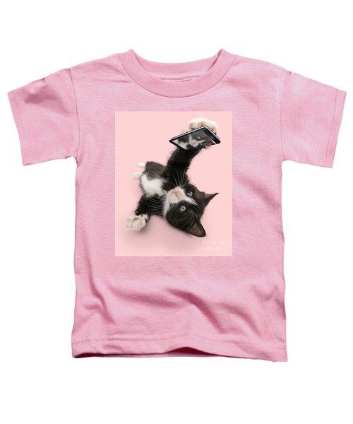 Cat Selfie Toddler T-Shirt