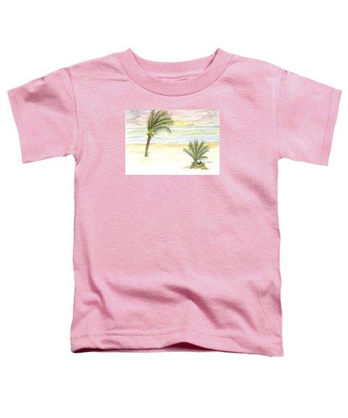 Cayman Beach Toddler T-Shirt