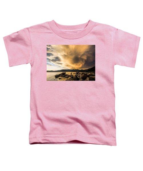Celebrating Sunset Toddler T-Shirt