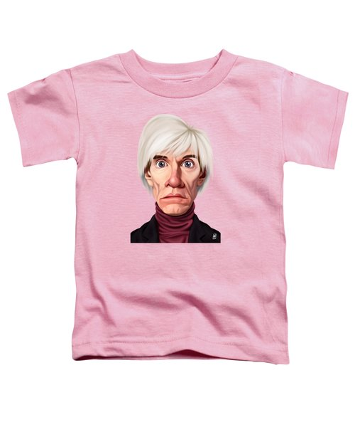 Celebrity Sunday - Andy Warhol Toddler T-Shirt