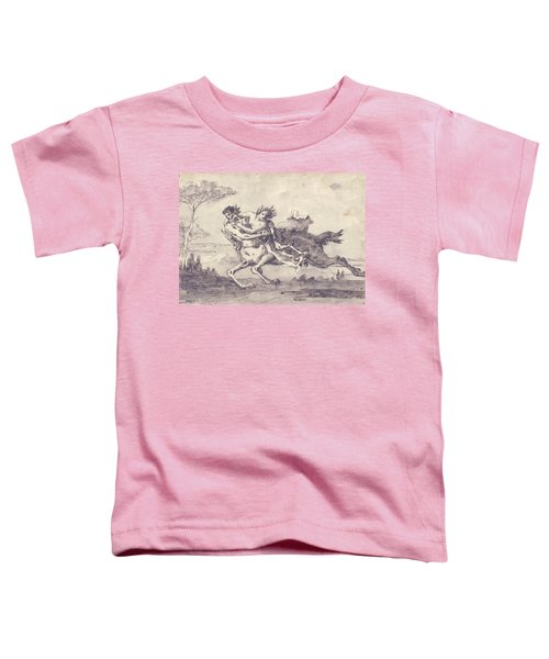 Centaur Abducting A Satyress Toddler T-Shirt