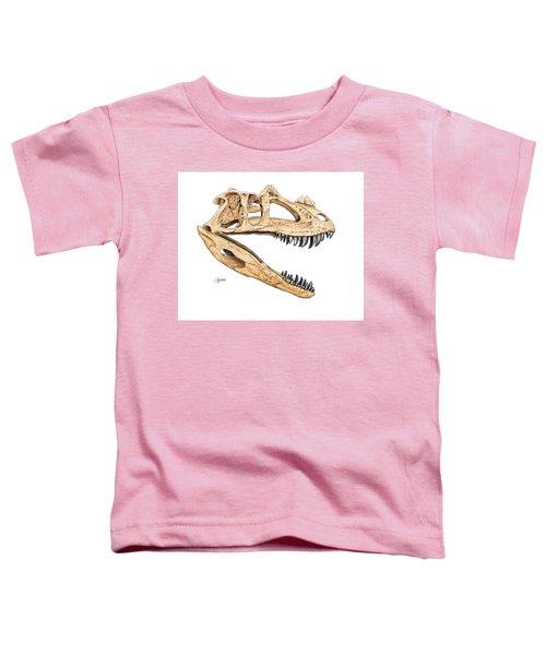 Ceratosaur Skull Toddler T-Shirt