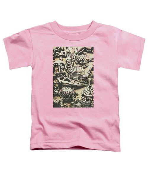 Charming Seashore Symbols Toddler T-Shirt
