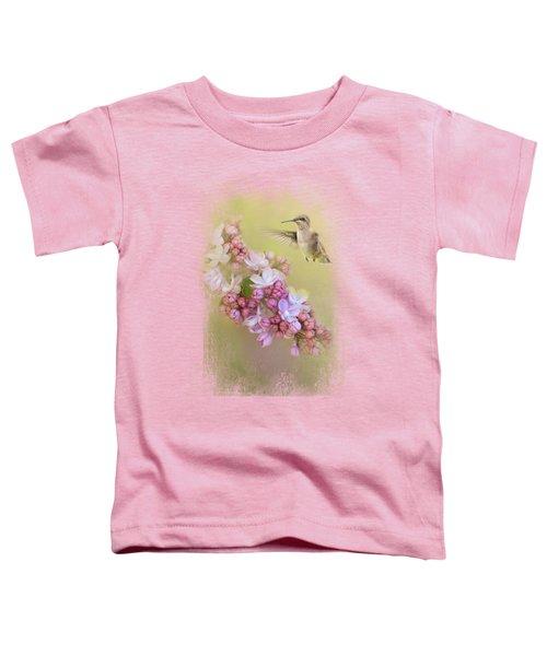 Chasing Lilacs Toddler T-Shirt by Jai Johnson