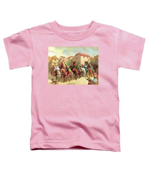 Chaucer's Pilgrims Toddler T-Shirt