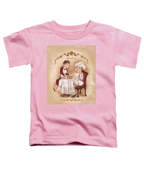 Chefs On A Break-sweet Treat Toddler T-Shirt