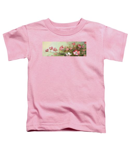 Cherokee Dogwood - Brave- Blushing Toddler T-Shirt