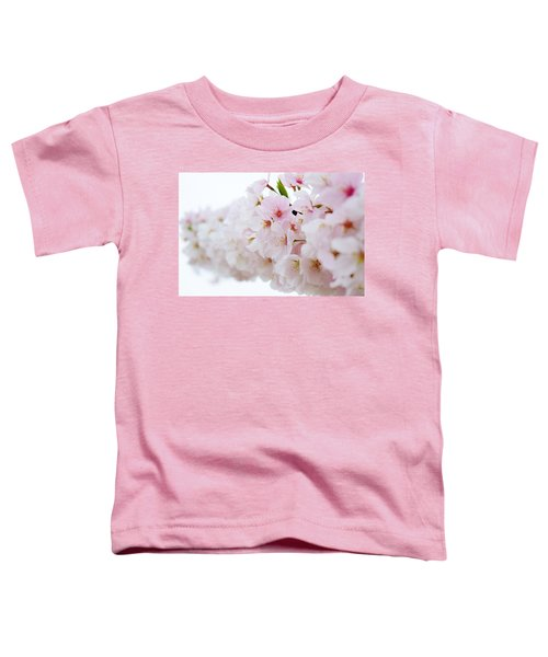Cherry Blossom Focus Toddler T-Shirt