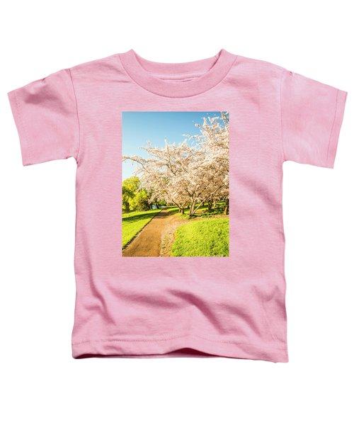 Cherry Blossom Lane Toddler T-Shirt