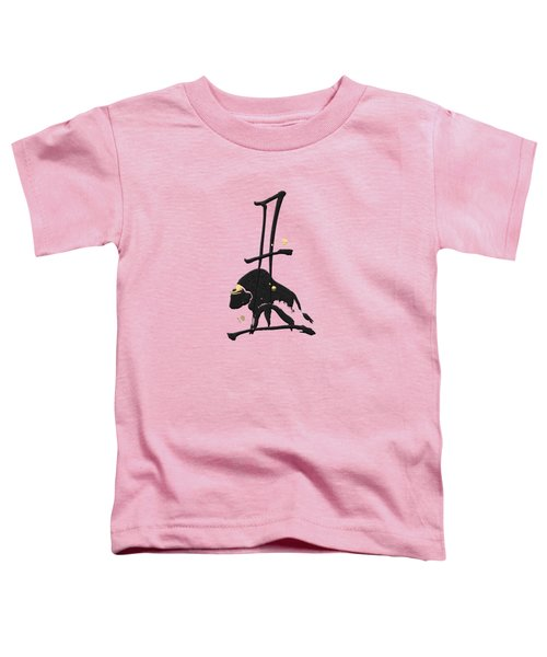 Chinese Zodiac - Year Of The Ox On Rice Paper Toddler T-Shirt