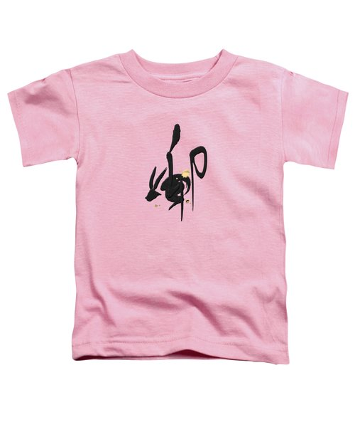 Chinese Zodiac - Year Of The Rabbit On Rice Paper Toddler T-Shirt
