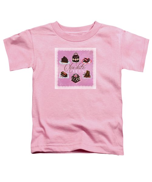 Chocolate Cakes Toddler T-Shirt