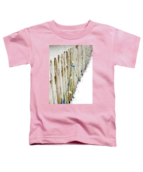 Christmas Fence Toddler T-Shirt
