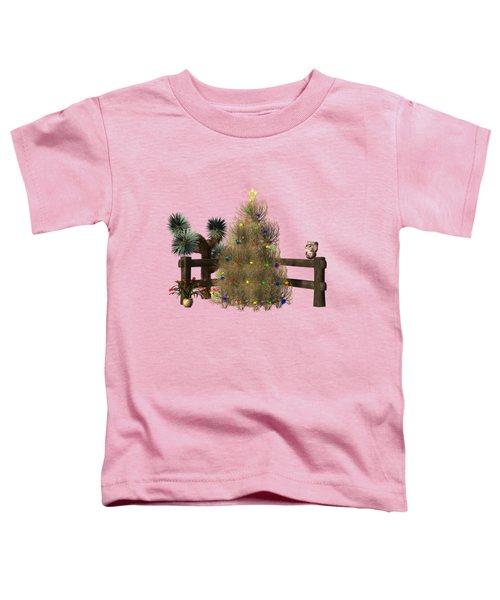 Christmas In The Desert Toddler T-Shirt