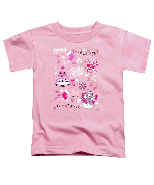 Christmas Toddler T-Shirt by Mark Ashkenazi