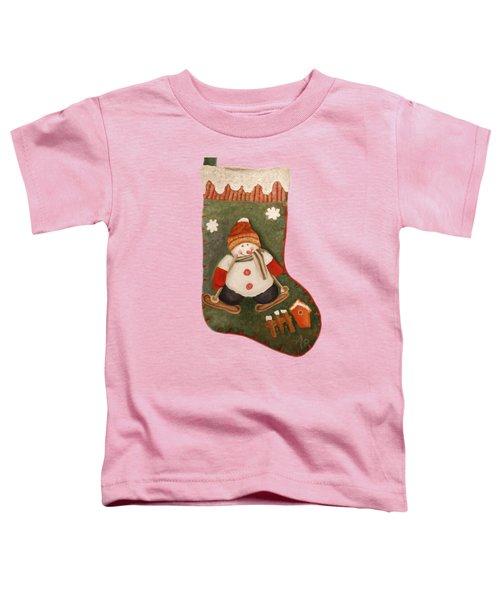 Christmas Stocking Toddler T-Shirt