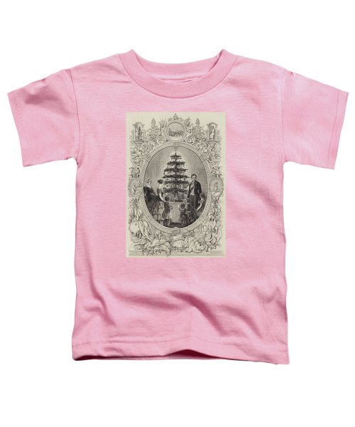 Christmas Tree At Windsor Castle Toddler T-Shirt