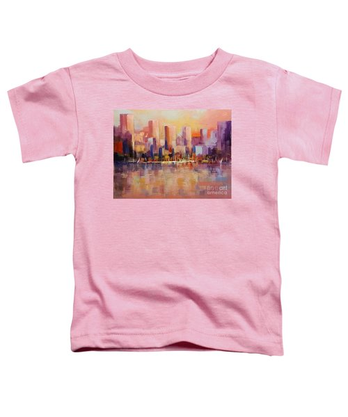 Cityscape 2 Toddler T-Shirt