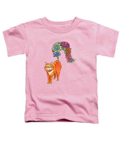 Classy Cat Chloe Toddler T-Shirt