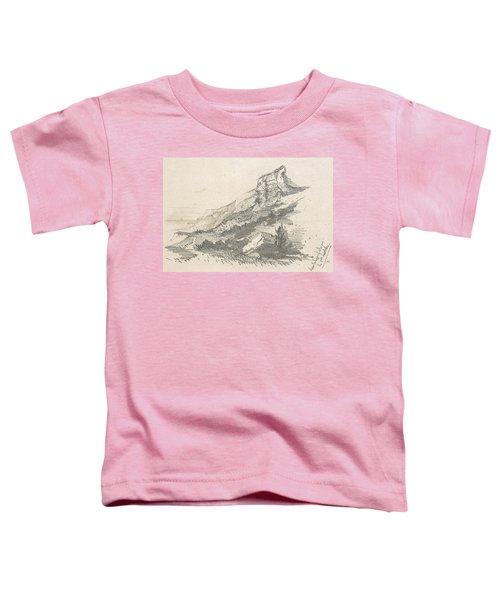 Cliff At Sainte Adresse Toddler T-Shirt