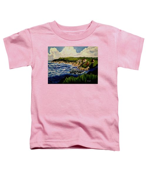 Cliffs And Sea Toddler T-Shirt