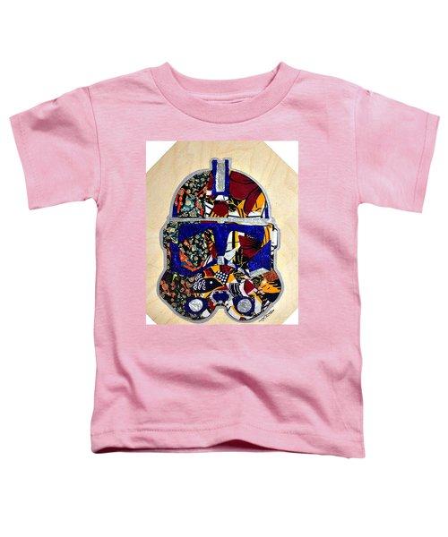 Clone Trooper Star Wars Afrofuturist Toddler T-Shirt