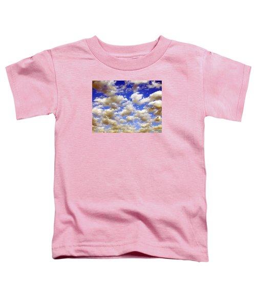 Clouds Blue Sky Toddler T-Shirt