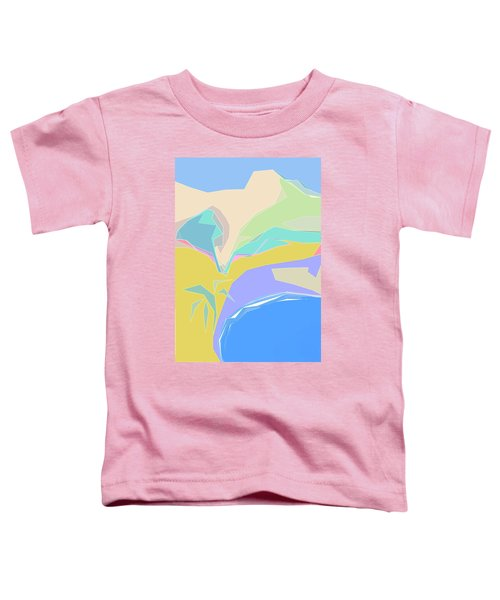 Coast Of Azure Toddler T-Shirt