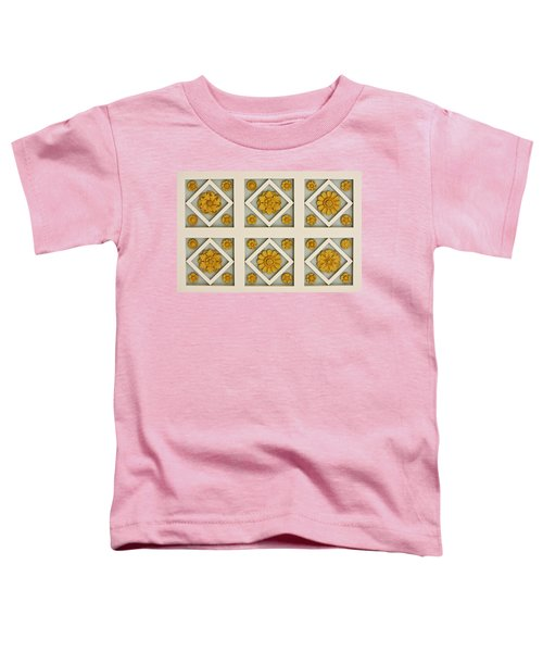 Coffered Ceiling Detail At Getty Villa Toddler T-Shirt