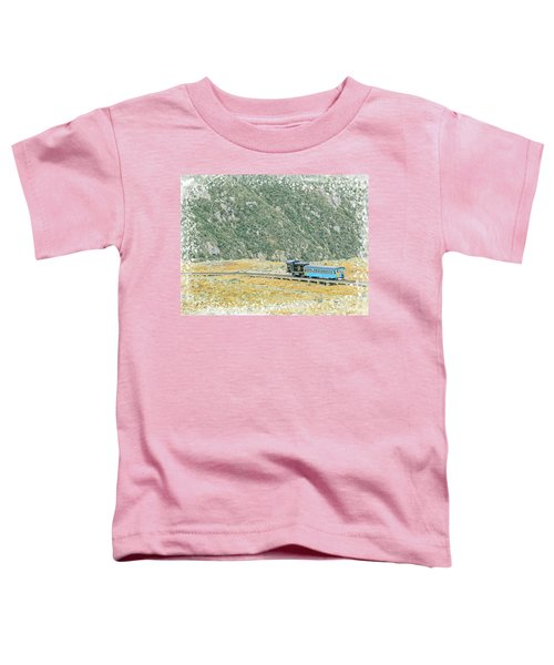Cog Railroad Train. Toddler T-Shirt