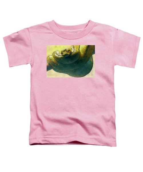 Coiled Toddler T-Shirt by Jack Zulli