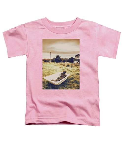 Cold Case Of Retro Crime Toddler T-Shirt