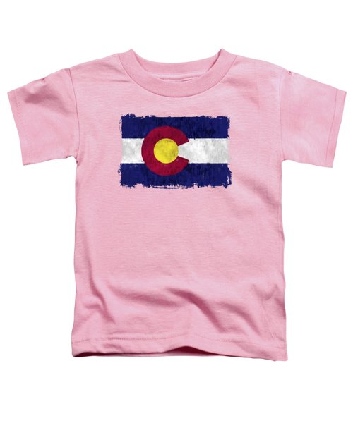 Colorado Flag Toddler T-Shirt